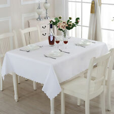 Table Cover Cloth Party Tablecloth Rectangle Theme Cotton Blend Covers Cloths