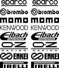 Car Door Stack Sponsor Logo Stickers,Graphics,Decals set 2