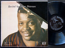 OSCAR PETERSON Recital LP CLEF MG C-694 Orig US 1954 JAZZ DG MONO Louis Bellson