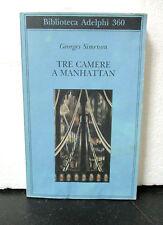 Simenon TRE CAMERE A MANHATTAN - Biblioteca Adelphi 1998