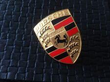 """Original """"Orange bars"""" porsche 356 Armoiries-emblème-BADGE-Caisse à poignée-Hood Handle"""