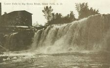 Sioux Falls, SD Lower Falls in Big Sioux River 1910