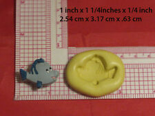 Flounder Fish Silicone Mold Cake Pop Chocolate Resin Clay 58 Fondant