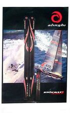 Stockli Alinghi Ski Poster NEW !!