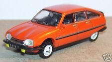 UNIVERSAL HOBBIES UH idem NOREV METAL HO 1/87 CITROEN GS X2 1978 ORANGE