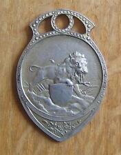 Silver 1st Place Winner's Medal Belgium National Shooting Championships 1928