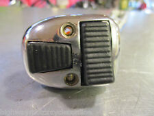 LAMBRETTA HORN LIGHT DIPPER DIP SWITCH  BLACK BUTTONS GP -SX LIKE CASA