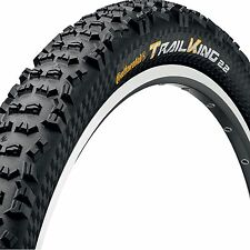 "Continental Trail King Tyre - 29"" x 2.2"" - Folding Bead- Black Chili - Racesport"
