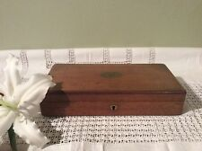 Pretty Small Vintage Wooden Cutlery Box -Box Only