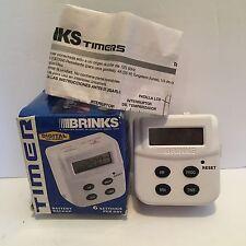 Brinks 44-1030 Indoor Programmable Timer 7 Day Digital Timer 6 Setting 1 Outlet