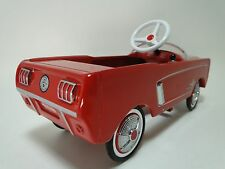 1964 Mustang Ford Pedal Car A Custom Vintage Hot T Rod  Midget Metal Show Model