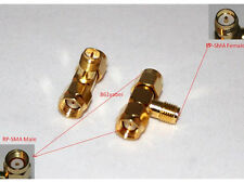 RP-SMA female to two RP-SMA male T SMA RF adapter (US Stock; Quick handling)