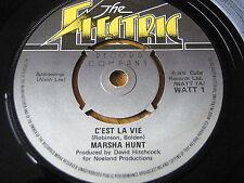 """MARSHA HUNT - C'EST LA VIE   7"""" VINYL"""