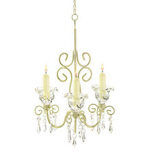 38369 Shabby Elegance Scrollwork Tea Light Candle Holder Chandelier