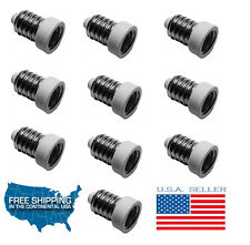 10X European Base (E14) to Candelabra Base (E12) Light Socket Reducer Adapters