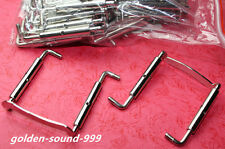 5 pcs Brand new Silver Chin Rest Clamps parts accessories For Viola Fiddle