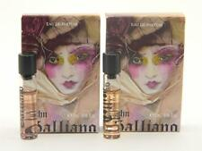 John Galliano Eau de Parfum EDP Miniature Roll On 2ml 0.06oz New (Lot of 2)