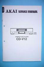 Service Manual-Anleitung für Akai  CD-V12 ,ORIGINAL