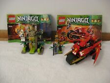 RARE - 2 LEGO NINJAGO Masters of Spinjitzu Sets 9440 & 9441