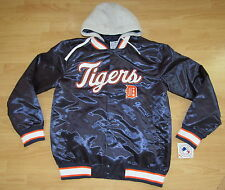 DETROIT TIGERS DUGOUT JACKET HOODED MENS SIZE XL