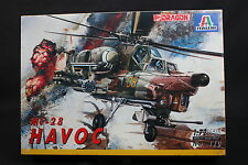 XX074 ITALERI Dragon 1/72 maquette helicoptere 110 MI-28 Havoc MI28 TV7 30mm