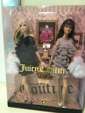 Juicy Couture Beverly Hills G&P Barbie Dolls Gold Label 2008 New