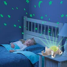 Baby Night Light LAMP Summer Infant Slumber Buddies Eddie The Elephant TOYS GIFT