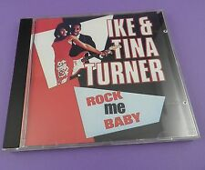 Ike & Tina Turner ‎– Rock Me Baby CD1987 - Unused Stock!