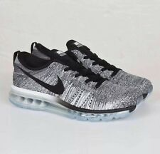 Nike Flyknit Air Max Premium Men's Sneakers Shoes Gray/clear UK7.5 EU42