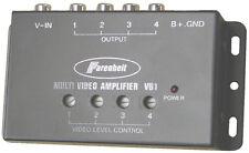 Power Acoustik VB1 Video Amplifier Power Acoustik1 Input/4 Outputs