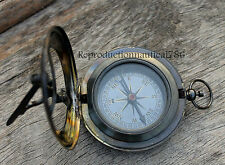 Vintage Antique WEST LONDON Navigation Sundial Compass Marine Astrolabe Compass