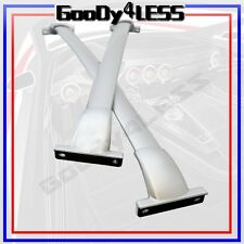 13-15 Roof Rack Cross Bars Set Bolt-On Factory Style OE Silver Painted Luggage