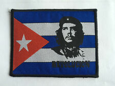 CHE GUEVARA CUBA REVOLUCION Embroidered Sew On Patch Patches UK Seller