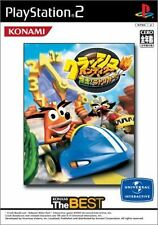 Used PS2  Crash Bandicoot: Bakuso! Nitro Kart  SONY PLAYSTATION JAPAN IMPORT