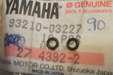 YAMAHA XS500  TX500  1973 1975  GENUINE NOS PILOT SCREW O-RINGS - # 93210-03227