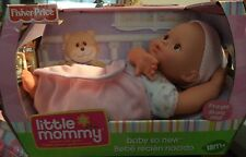 FISHER PRICE LITTLE MOMMY BABY SO NEW GIRL BRWN EYES HISPANIC K9098 *NU*