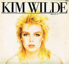 "KIM WILDE Select 12"" LP w Printed Inner RAK UK 1982 SRAK 548 A-1/B-1 @1st Press"