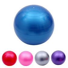 45cm Blue Exercise Fitness Aerobic Ball for GYM Yoga Pilates Pregnancy Birthing