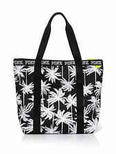 New with Tags Victorias Secret PINK Zip-Top Tote PALM TREE Beach Bag SOLD OUT