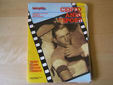 INTREPIDO SPORT=CENTO ANNI SPORT=25 FASCICOLI+COVER=1989