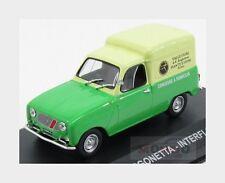 Renault 4 Furgonetta Van 1966 Valle Fiori Roma Interflora Edicola 1:43 VPDC055