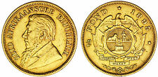 1/2 GOLD POND SOUTH AFRICA-1/2 LIBRA ORO SUDÁFRICA. KRUGER. 1895. VF+/MBC+.