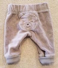 CARTER'S NEWBORN TERRY CLOTH BEAR PANTS ADORABLE REBORN