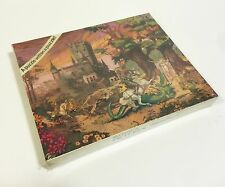Vtg American Puzzle Factory Knight Dragon Medieval Fantasy Hidden Pic NEW SEALED