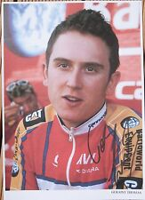 cyclisme ciclismo autograph GERAINT THOMA feuille 21X29 signé tdf signed cycling