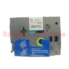 Brother TZ-231 P-Touch Laminated Compatible Black on White Tape 12mm 8m TZe231
