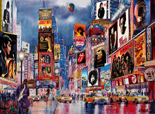 "Times Square New York Broadway Rock music Painting 16""x20"" by the artist"