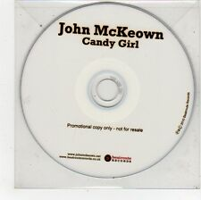 (FU368) John McKeown, Candy Girl - 2010 DJ CD