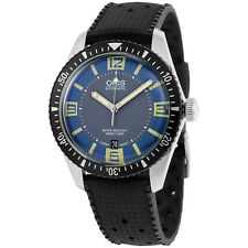 Oris Divers Sixty-Five Blue and Grey Dial Mens Watch 733-7707-4065RS