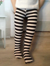 "Black & White Striped Tights for 16"" A Girl for all Time Doll or Sasha"